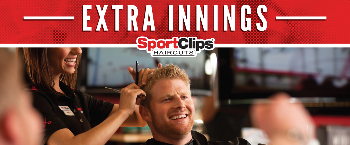 The Sport Clips Haircuts of Marion Extra Innings Offerings
